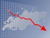 Chart Europe Down