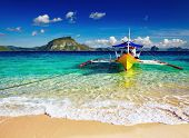 Tropical beach, South China ver, El Nido, Filipinas