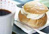 Coffee And Cream Bun