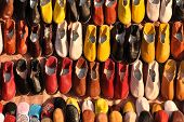 Colorful Shoes For Sale In Marrakech