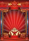 Постер, плакат: Фантастический плакат цирк замечательный цирк плакат для вашего развлечения