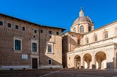 Ducal Palace in Urbino (Italy)