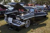 1958 Black Chevy Impala
