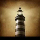 Lighthouse Grunge