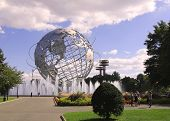 1964 New York World's Fair Unisphere im Flushing Meadows Park
