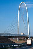 Modern suspension bridge - Emilia Romagna, Italy