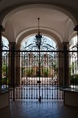 Palazzo courtyard, Italian Architecture - Rome