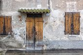 Old stucco house, Italian Architecture - Emilia Romagna