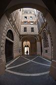 Courtyard of palazzo - Rome