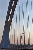 Modern bridge - Emilia Romagna, Italy