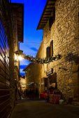 Christmas in Montecastello di Vibio, Umbria, Italy