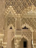 Delicate Filigree Stonework Of The Alhambra