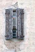 Wooden shutters, Emilia Romagna, Italy