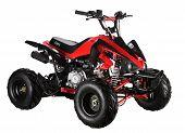 Rojo de ATV