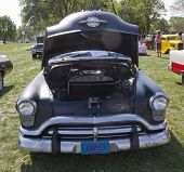 Black 1952 Oldsmobile Super 88 Front View