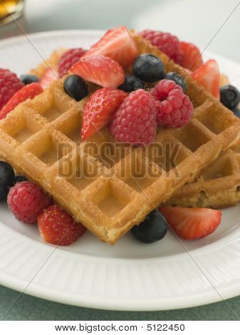 Picture or photo of waffle waffles belgium waffle belgium for American cuisine desserts