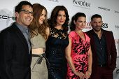 LOS ANGELES - SEP 19: Dan Bucatinsky, Darby Stanchfield, Bellamy Young, Katie Lowes, Guillermo Diaz