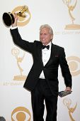LOS ANGELES - SEP 22:  Michael Douglas at the 65th Emmy Awards - Press Room at Nokia Theater on Sept