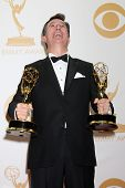LOS ANGELES - SEP 22:  Stephen Colbert at the 65th Emmy Awards - Press Room at Nokia Theater on Sept