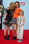 LOS ANGELES - SEP 21:  Eulala Grace Scheel, Marcia Gay Harden, Julitta Dee Scheel at the