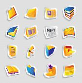 Icons For Books And Papers
