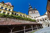 Clock Tower, Landmark Of Transylvania, Sighisoara poster