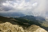 Panorama From Mount Tahtali, Turkey, Kemer