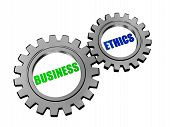 Business Ethics In Silver Grey Gears