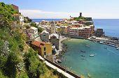 The Vernazza Village Of  Cinque Terre