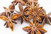 Chinese aniseed close up