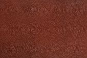 Brown Glossy Faux Leather Background Texture