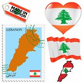 National Colours Of Lebanon