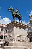 Постер, плакат: Monument To Giuseppe Garibaldi In Genoa 1893