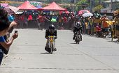 Motocycle drag racing