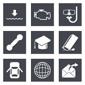 Icons for Web Design set 17