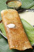 Masala Dosa - a pancake from South India