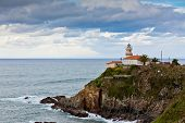 Lighthouse Of Cudillero, Asturias, Northern Spain