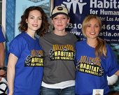 LOS ANGELES - MAR 8:  Rebecca Herbst, Maura West, Emme Rylan at the 5th Annual General Hospital Habi
