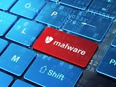 image of malware  - Safety concept - JPG