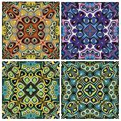 Mediterranean Style Tile Pattern