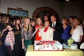 LOS ANGELES - MAR 4:  Melody Thomas Scott, Cast at the Melody Thomas Scott Celebrates 35 Years at th