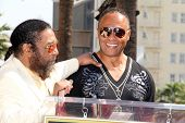 LOS ANGELES - MAR 6:  Eddie Holland, Ray Parker Jr at the Ray Parker Jr Hollywood Walk of Fame Star