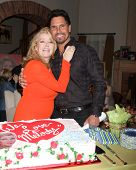 LOS ANGELES - MAR 4:  Melody Thomas Scott, Don Diamont at the Melody Thomas Scott Celebrates 35 Years at the