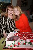 LOS ANGELES - MAR 4:  Patrika Darbo, Melody Thomas Scott at the Melody Thomas Scott Celebrates 35 Years at the