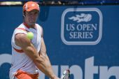 Gabashvili at the Los Angeles Tennis Open