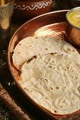 Bhakri - a flatbread made of Jowar from Gujarat.