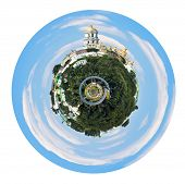 Spherical View Of Kiev Pechersk Lavra