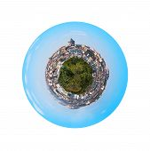 Istanbul Turkey With View On Tower And Galata District