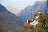stock photo of himachal  - Dhankar gompa - JPG