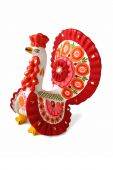 Turkey Cock - Russian Traditional Toy